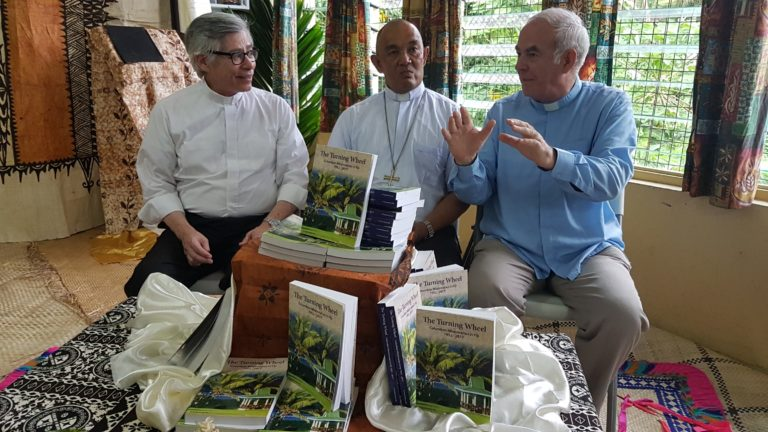 Archbishop launches book on the Columbans in Fiji