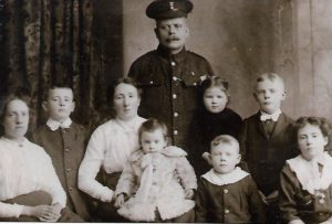 Bernard and Elizabeth Fitzpatrick and their family.
