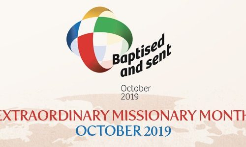 Archbishop welcomes Extraordinary Month of Mission