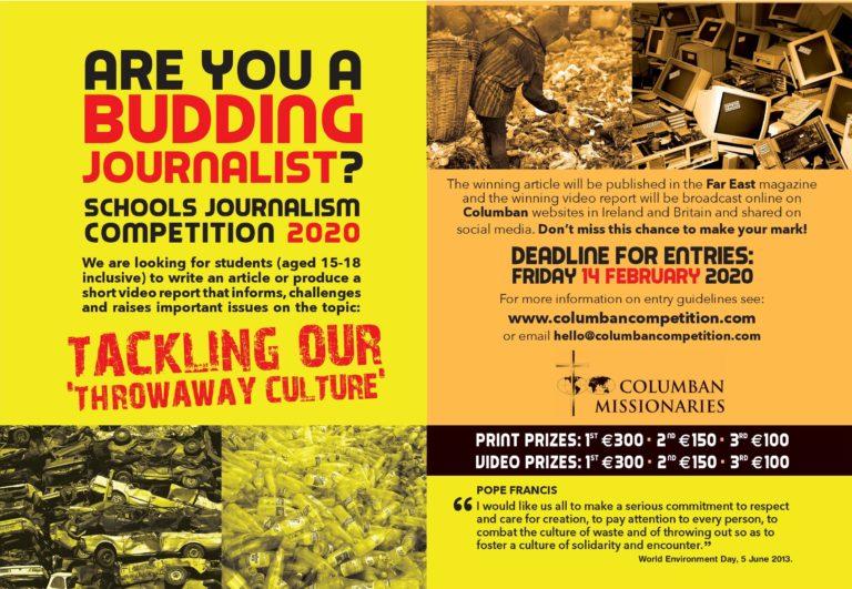 Columbans Schools Journalism 2020 Winners Announced