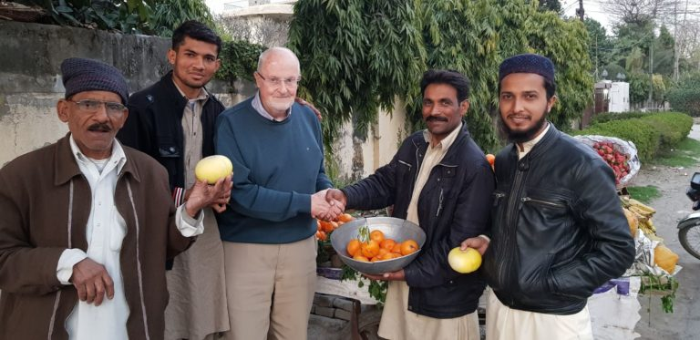 Fr Pat returns to Pakistan to research 40 years of Columban mission